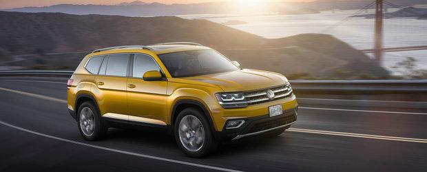 Volkswagen se gandeste sa aduca SUV-ul Atlas in Europa