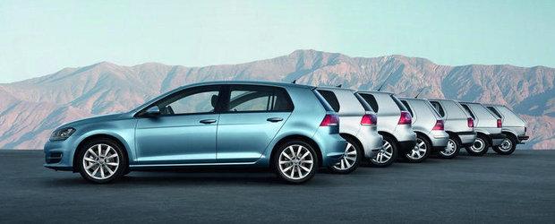 Volkswagen si cele sapte Golfuri: Incursiune in istoria modelului german
