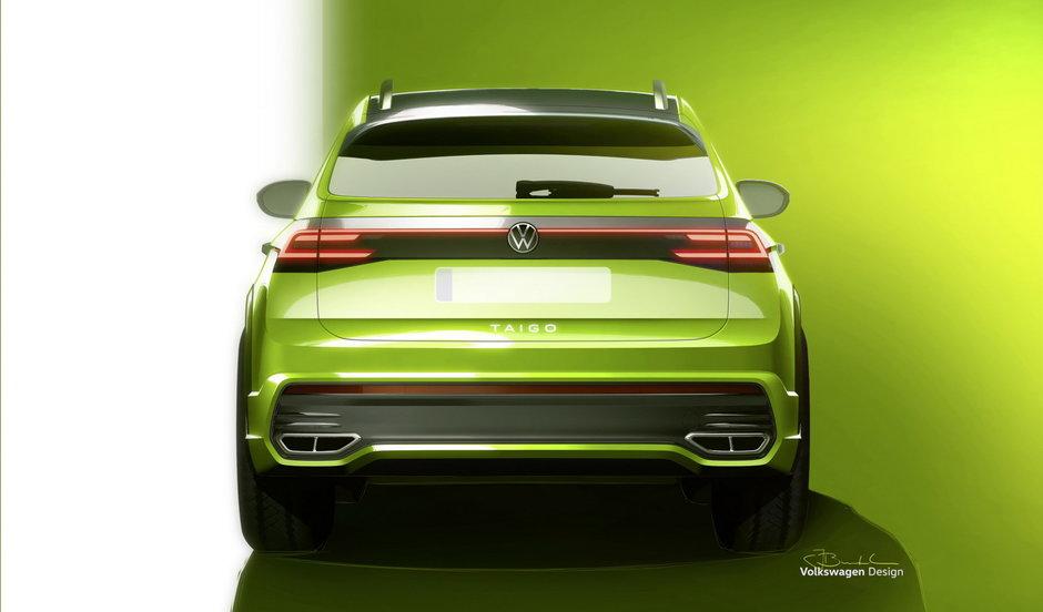 Volkswagen Taigo - Schite oficiale