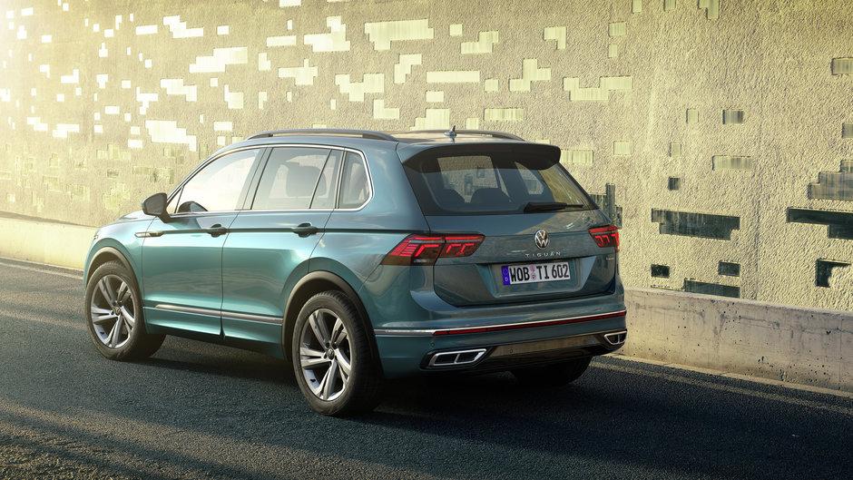 Volkswagen Tiguan Facelift