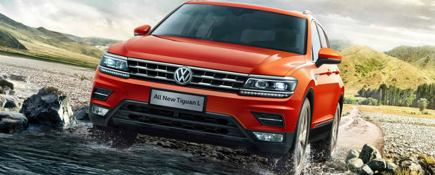 Volkswagen Tiguan va primi o versiune Allspace