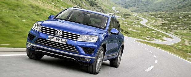 Volkswagen Touareg facelift V6 TDI promite un consum de 6.6 litri