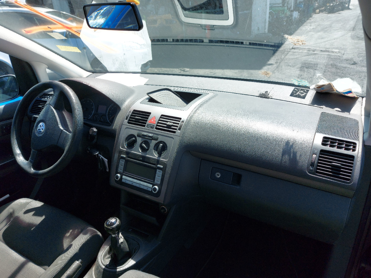 Volkswagen Touran facelift 1.4 tip BSX , cutie tip KLK