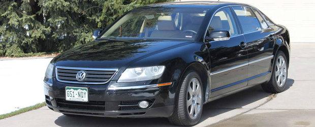 Volkswagen-ul mai tare decat un S-Class. Cu cat se vinde acest Phaeton W12