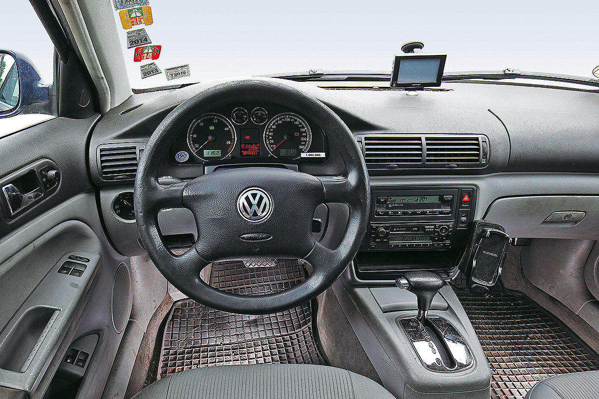 Volkswagen-ul Passat cu mai mult de un milion de kilometri in bord - Volkswagen-ul Passat cu mai mult de un milion de kilometri in bord