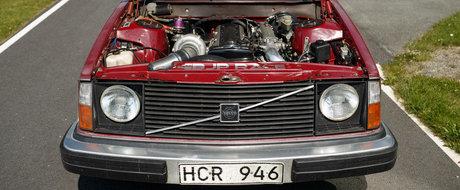 Volvo 245 Wagon cu motor de Toyota Supra. Reteta sleeper-ului perfect?