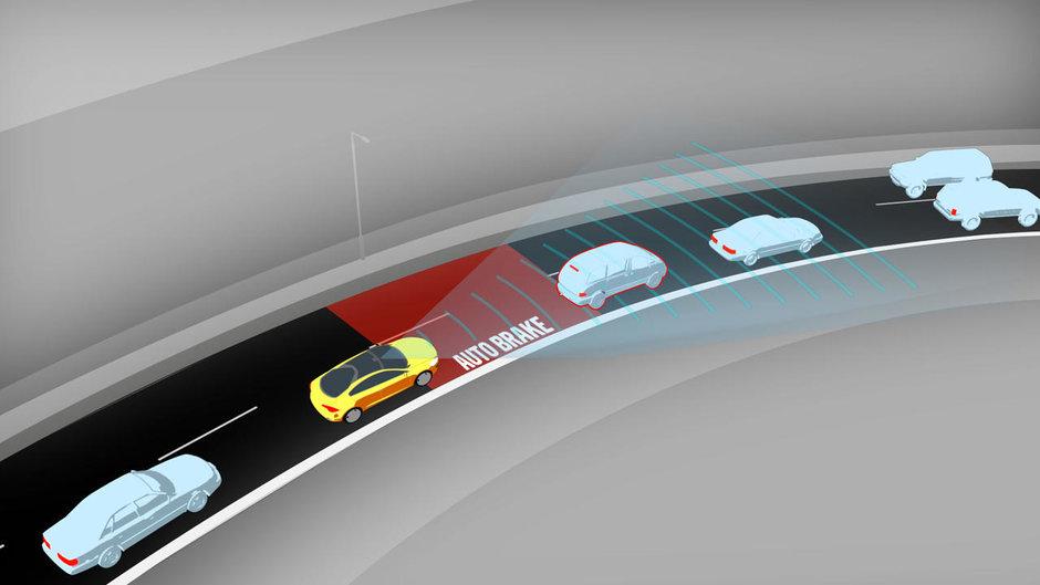 Volvo a atins pragul de 1 milion de masini vandute cu sistemul de franare automata