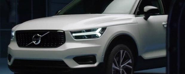 Volvo a pierdut pe internet mai multe poze cu noua masina a companiei. Arata ca un concept car, dar va fi produsa in serie