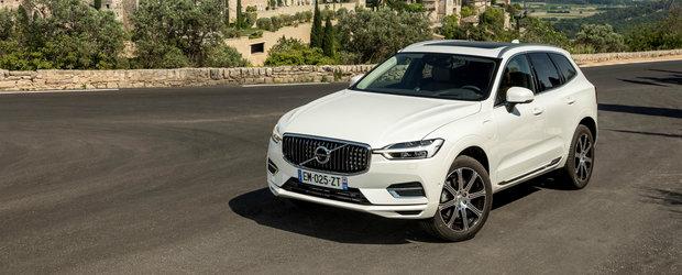 Volvo incheie prima jumatate a anului cu RECORD ISTORIC de vanzari. XC60 ramane cel mai popular model din gama