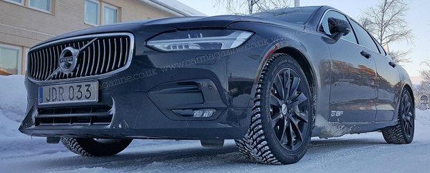 Volvo lucreaza deja la o versiune sport a noului S90