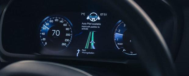 Volvo ne prezinta astazi interfata masinilor sale autonome de maine