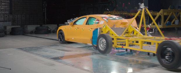Volvo nu se joaca atunci cand vine vorba de siguranta. Uite cum sunt testate masinile suedeze inainte de a fi lansate pe piata