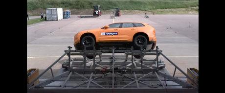 Volvo nu se joaca cu siguranta. Uite cum testeaza noul XC60