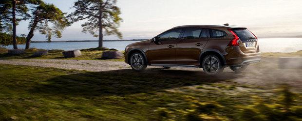 Volvo prezinta oficial noul V60 Cross Country