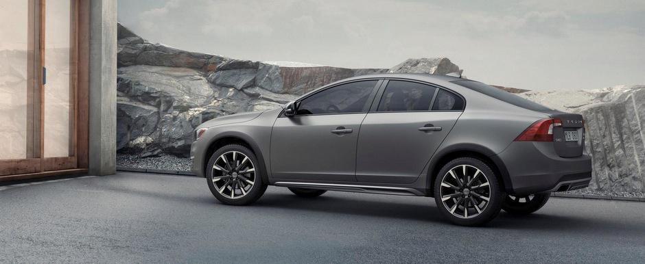 Volvo S60 Cross Country da nastere unui nou trend: SUV-ul Sedan
