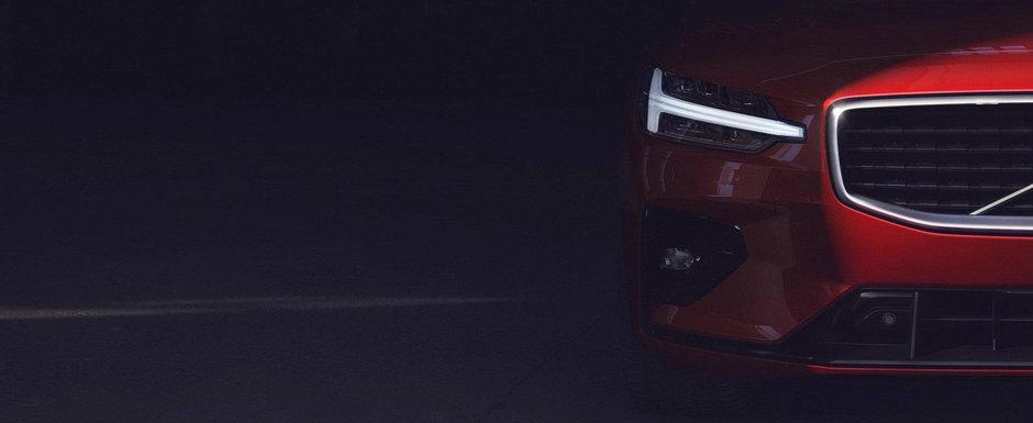 Volvo S60, suedezul care te face sa uiti de masinile germane. Are un design de milioane si 415 CP sub capota