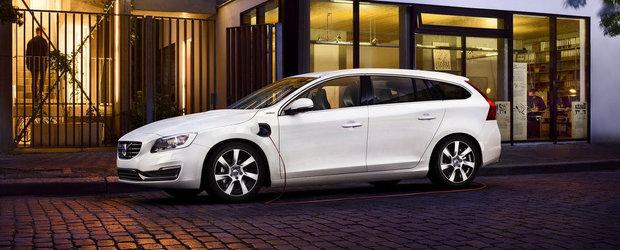 Volvo se gandeste sa lanseze un model hibrid de clasa mica