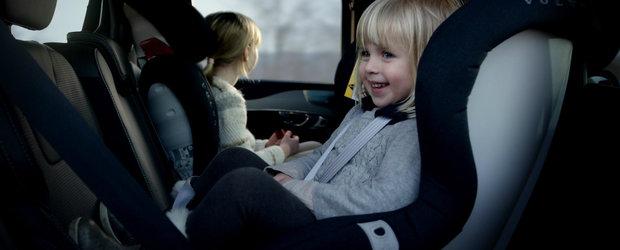 Volvo se pregateste sa lanseze noi scaune pentru copii