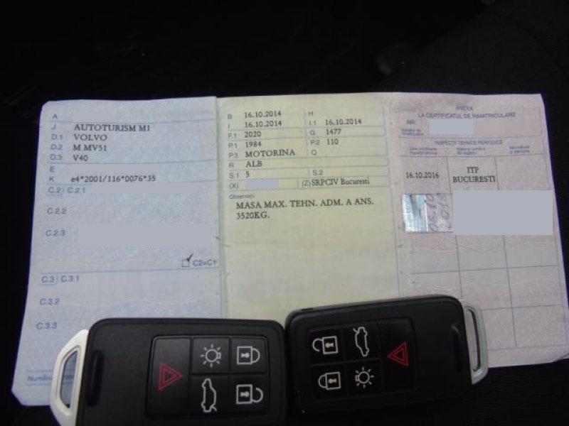 Volvo V40 D3 Start/Stop - 1.984 cc / 150 CP 2014