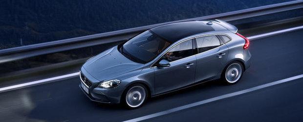 Volvo V40, disponibil si in Romania. Afla cat costa!