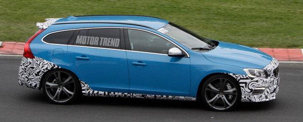 Volvo V60 Polestar, aparitie surpriza la Nurburgring!