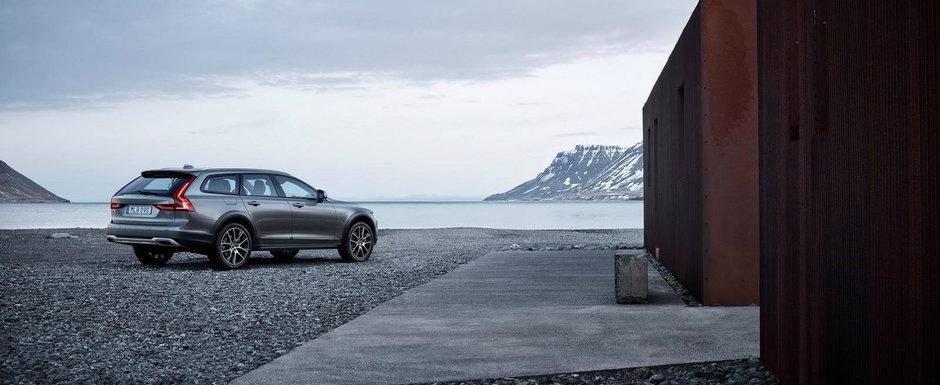 Volvo V90 Cross Country arata demential, dar are un pret pe masura in Romania: de la 45.686 Euro + TVA