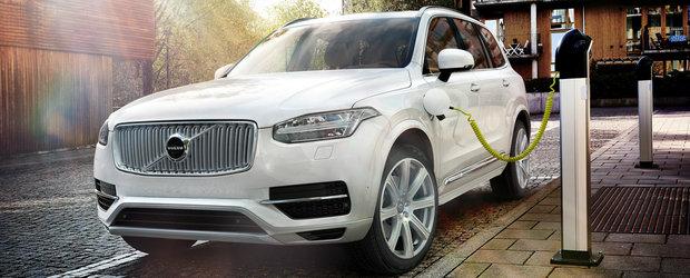 Volvo vrea sa vanda un milion de masini electrice si hibrid pana in 2025