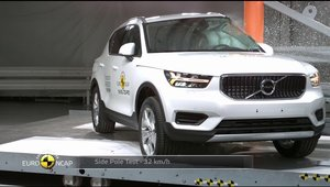 Volvo XC40 - Crash test Euro NCAP
