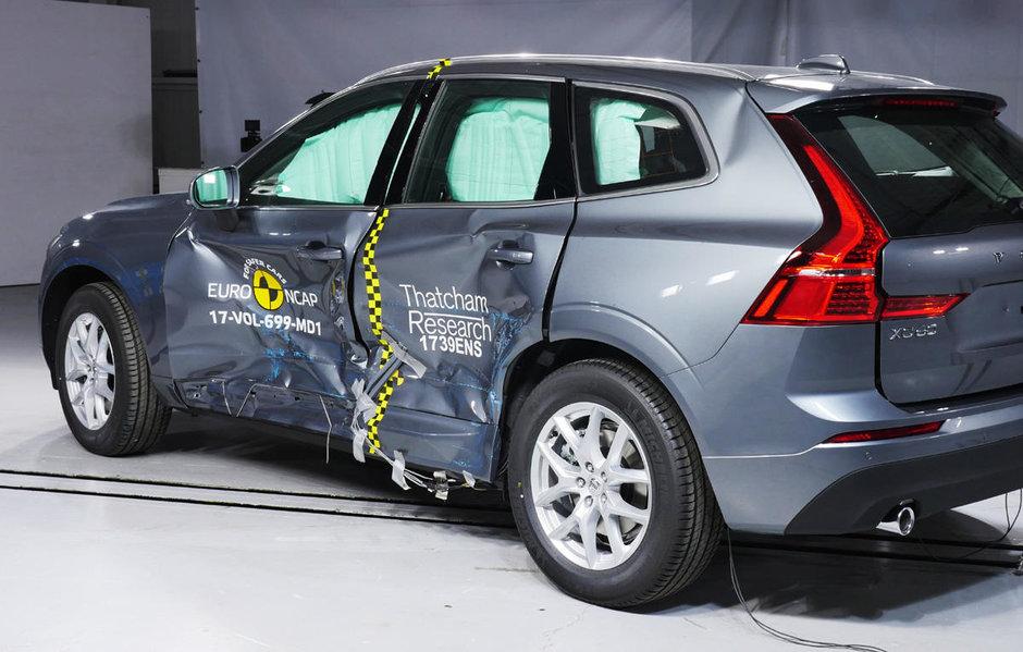 Volvo XC60 la Euro NCAP
