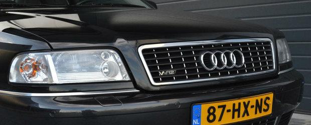 Vor pe el aproape 20.000 de euro. Care este secretul acestui Audi A8 din 2002