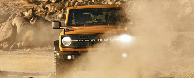 Vor sa fie primii care tuneaza noul Ford Bronco. Americanii pregatesc un motor V8 si pret ametitor