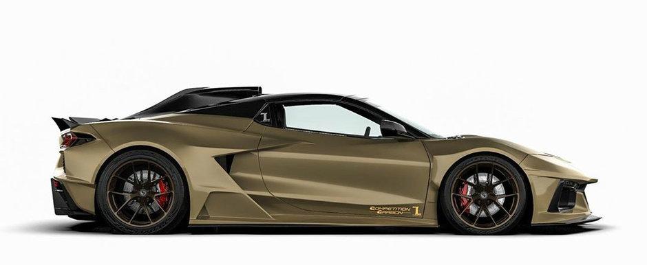 Vor sa scoata pe piata cel mai extrem bodykit pentru Corvette C8. Cum arata