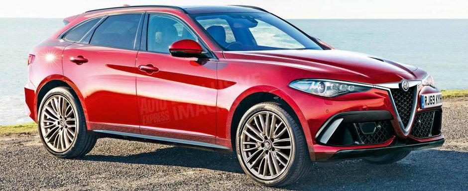 Vor sa se bata cu nemtii pe toate fronturile. Alfa Romeo lanseaza un rival pentru Audi Q7, BMW X5 si Mercedes GLE
