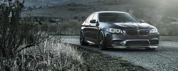 Vorsteiner ia din nou la modificat super-sedanul BMW M5 F10