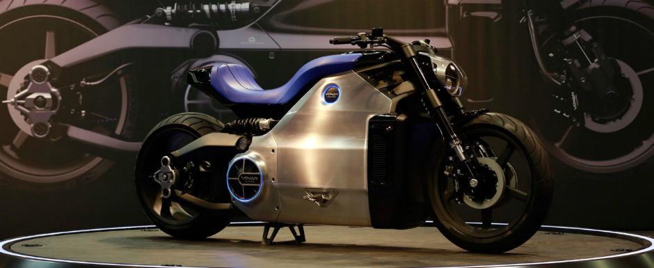 Voxan Wattman, cea mai puternica motocicleta electrica din lume, are 200 cp