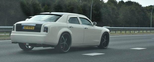 Vrea ca toata lumea sa creada ca el conduce un Rolls-Royce. Ce masina este, de fapt, aceasta