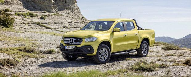 Vrea sa puna punct suprematiei Toyotei Hilux. Cat costa in Romania noul Mercedes X-Class