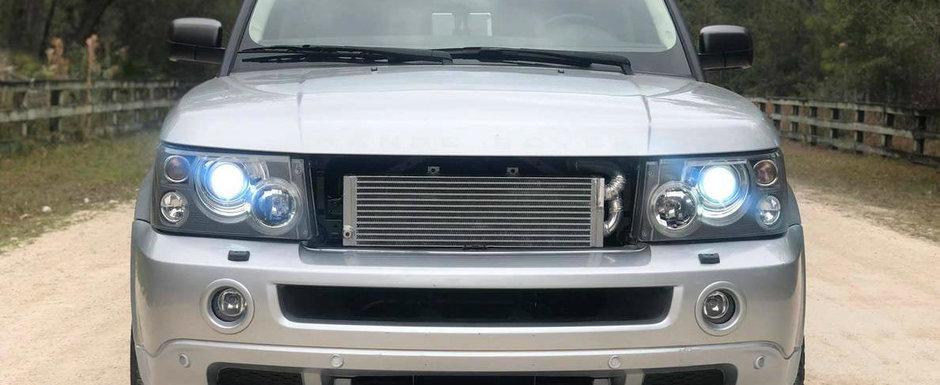 Vrea sa se apuce de un proiect nou, asa ca il vinde. Range Rover-ul din 2008 are acum motor V8 twin-turbo