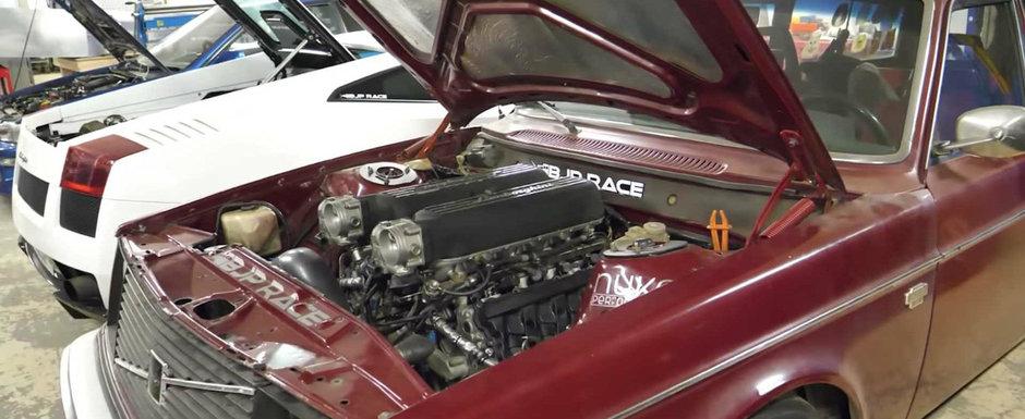 Vrea sa treaca la urmatorul nivel. Motorul de Toyota Supra va fi inlocuit cu V10-le de pe Gallardo