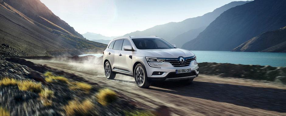 Vrei un SUV pur-sange de la Renault? Noua generatie Koleos se intoarce in Romania