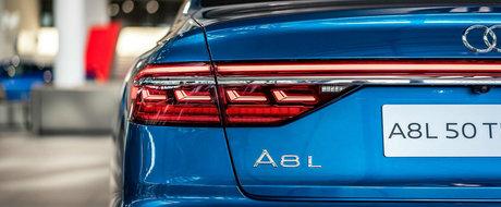 Vrei una la fel? Afla cat costa nuanta exterioara a acestui Audi A8 de ultima generatie