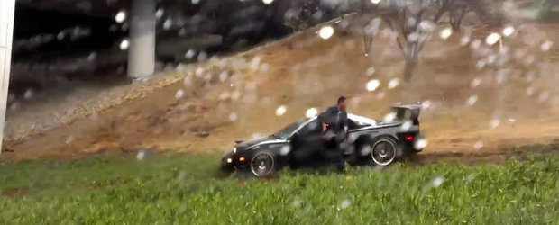 Vremea ploioasa si Acura NSX nu fac casa buna