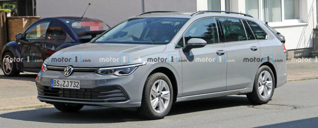 VW a scos noul Golf Variant in trafic fara pic de camuflaj sa ne arate tuturor cu ce vrea sa bata Skoda Octavia Combi