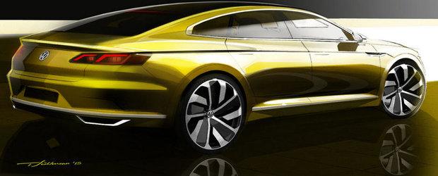 VW aduce la Geneva un concept car misterios. Sa fie oare noul CC?
