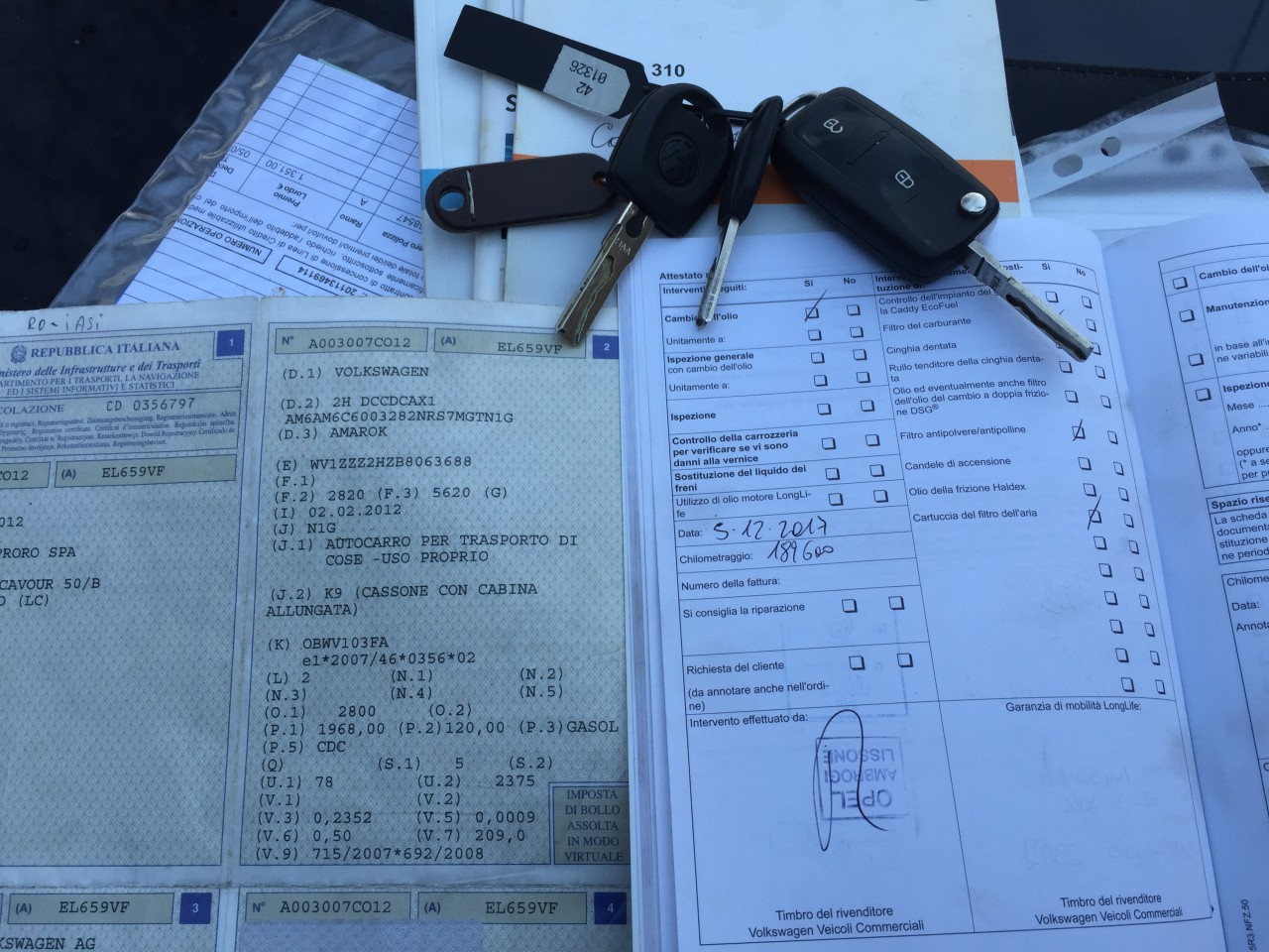 VW Amarok 4 MOTION , EURO 5 2012