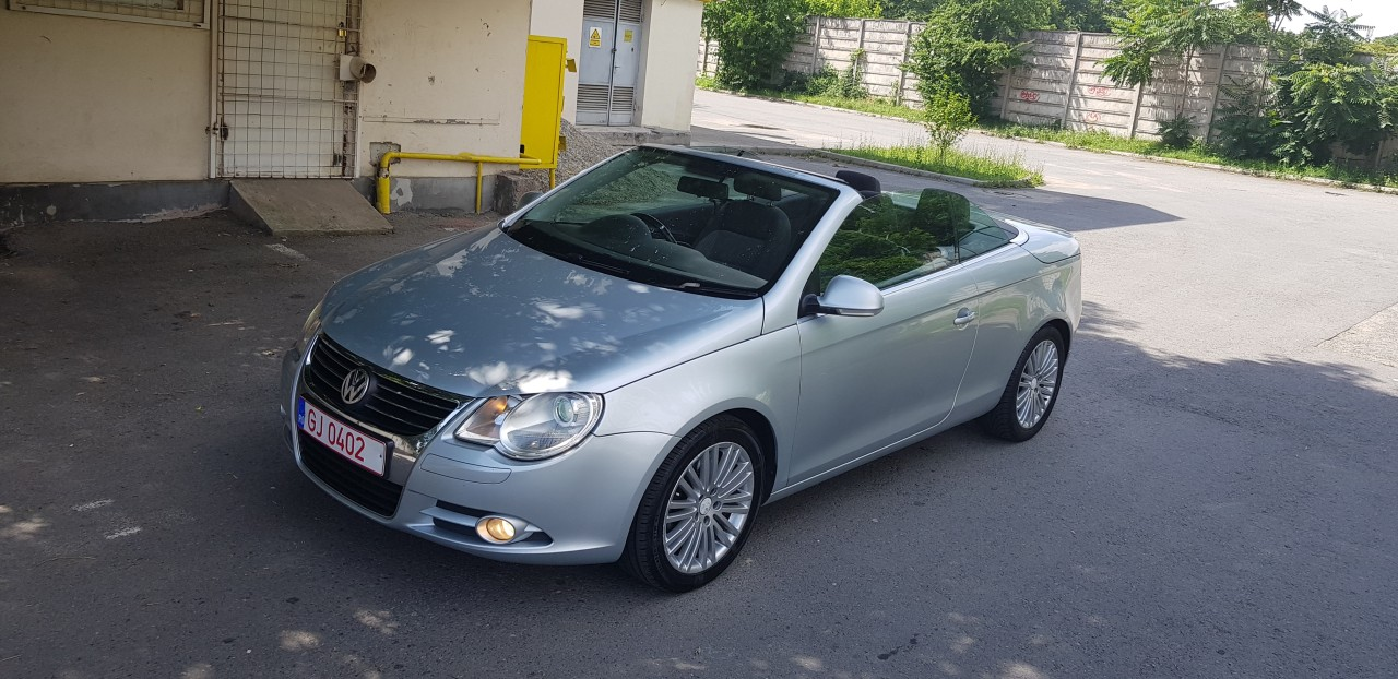 VW Eos Cabrio Panoramic 2007