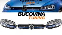 VW GOLF 7 FARURI LED SI GRILA GTE