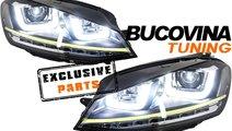 VW GOLF 7 FARURI LED  SI GRILA R400