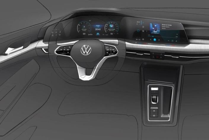 VW Golf 8 - Primele poze