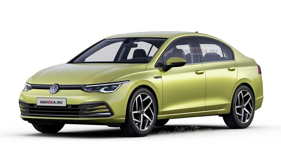 VW Golf 8 Sedan